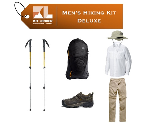 Men's - Hiking KIT - [DELUXE]