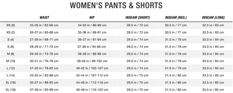 Womens North Face Pants