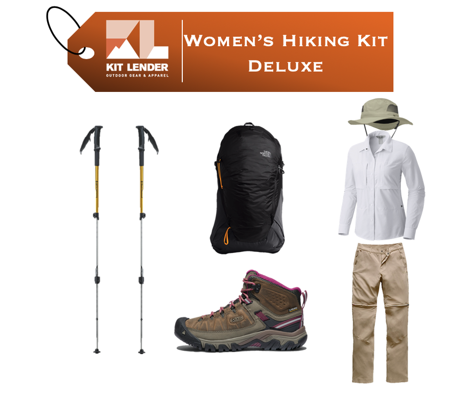 Women's - Hiking KIT - [DELUXE]
