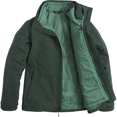 [Complete Outerwear with Boots KIT] - Mens - The North Face (Green | 3-in-1 |Clement Triclimate)