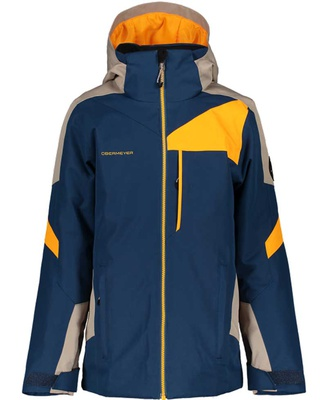 [Complete Outerwear with Boots KIT] - Jr Boy's - Obermeyer (Navy / Orange | Fleet)