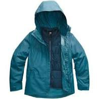 [Complete Outerwear with Boots KIT] - Women's - The North Face (Ocean Blue / Deep Teal | 3-in-1 | Clementine Triclimate)